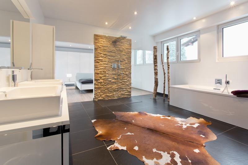 Umbau Von Der Backstube Zum Luxus Bad Mit Angrenzendem Schlafzimmer